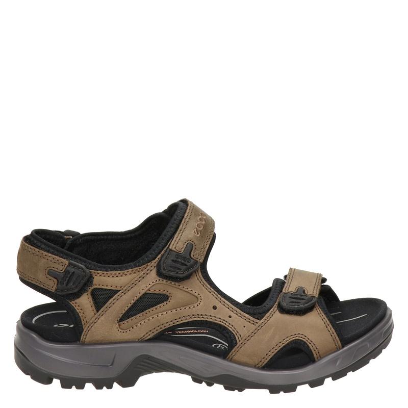Ecco Offroad leren outdoor sandalen bruin online kopen