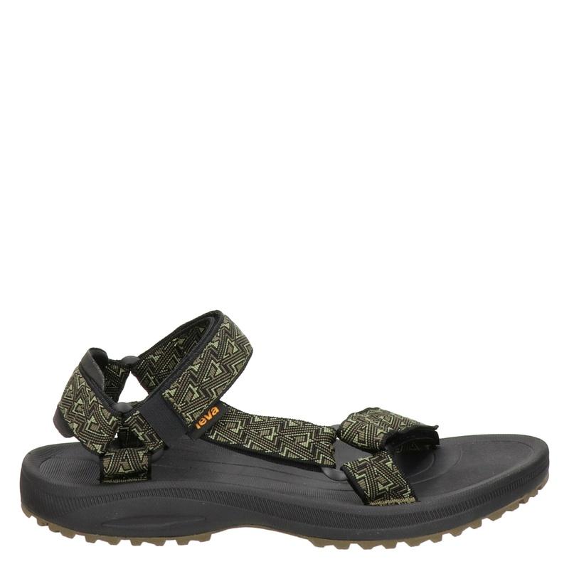 Teva Winsted outdoor sandalen kaki/zwart online kopen