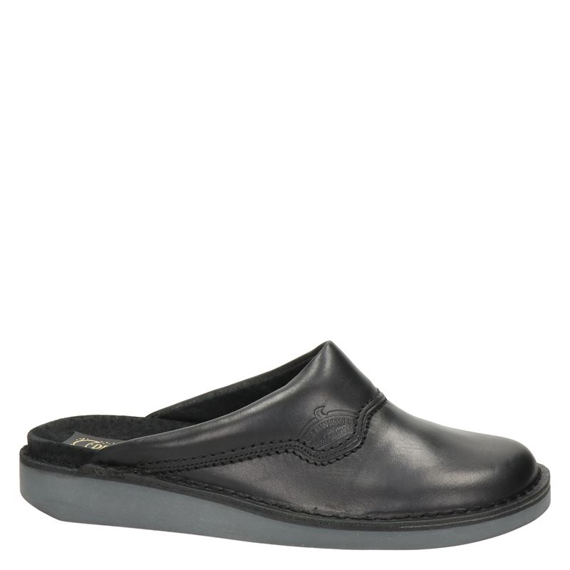 Nelson - Pantoffels - Zwart