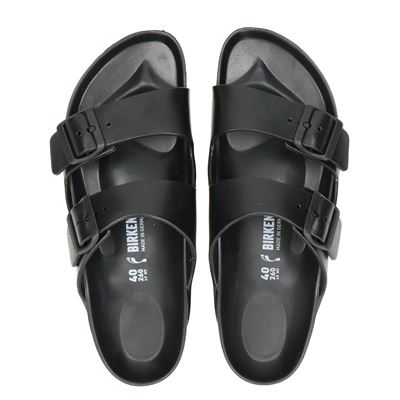 Birkenstock heren slippers zwart