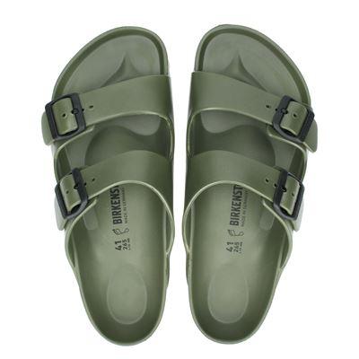 Birkenstock heren slippers kaki