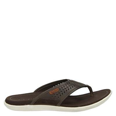 Ecco heren slippers bruin