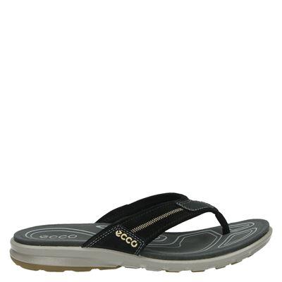 Ecco heren slippers zwart