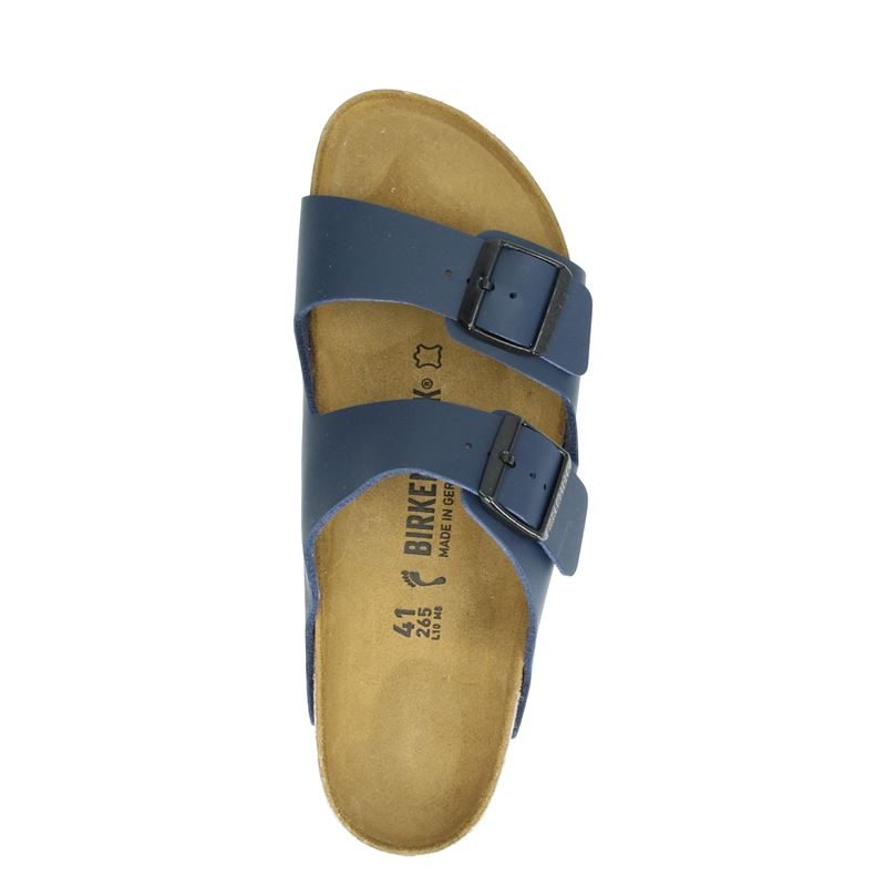 Birkenstock Arizona - Slippers - Blauw