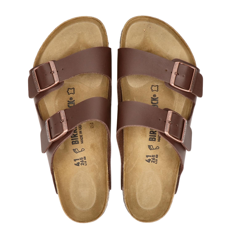Brun Avec Boucle Chaussures Birkenstock Pour Les Hommes paGTaowpzL