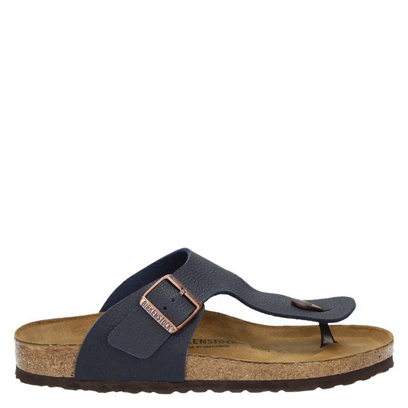 1f710366ba3 Birkenstock Ramses heren slippers blauw