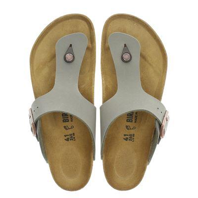 Birkenstock heren slippers beige