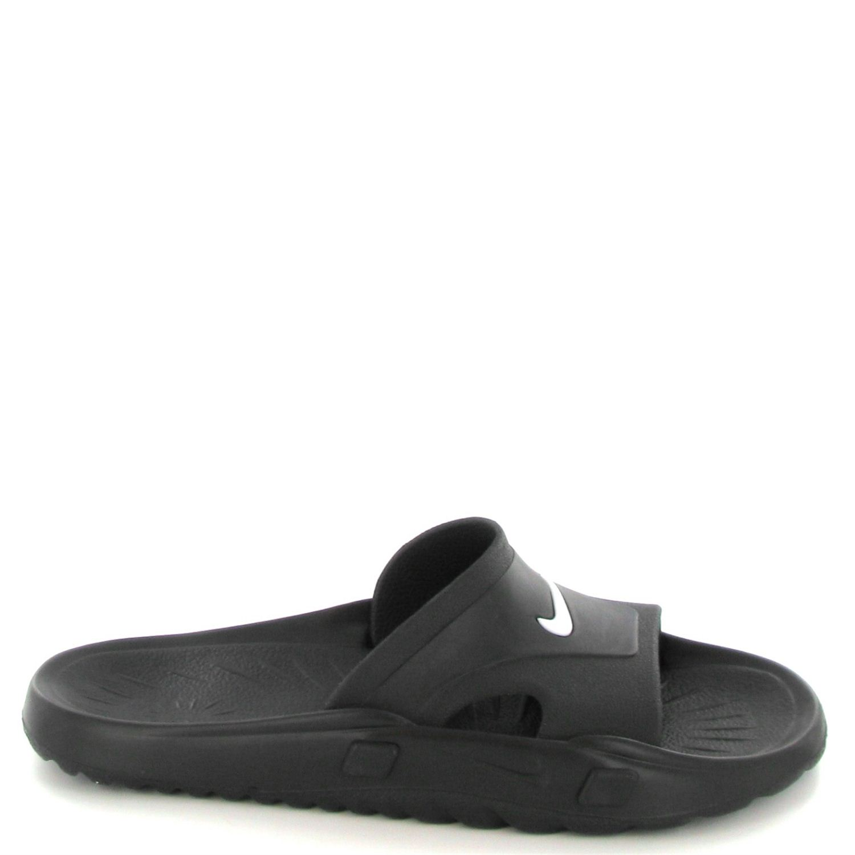 badslippers nike heren nike dames schoenen zwart