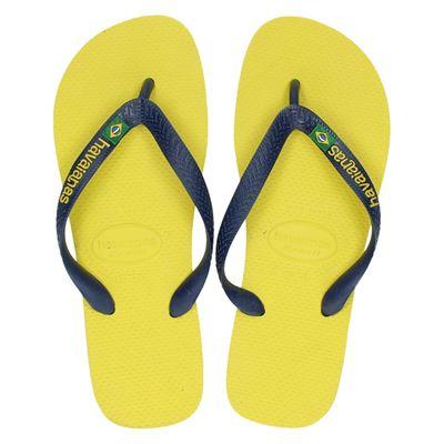 Havaianas heren slippers geel