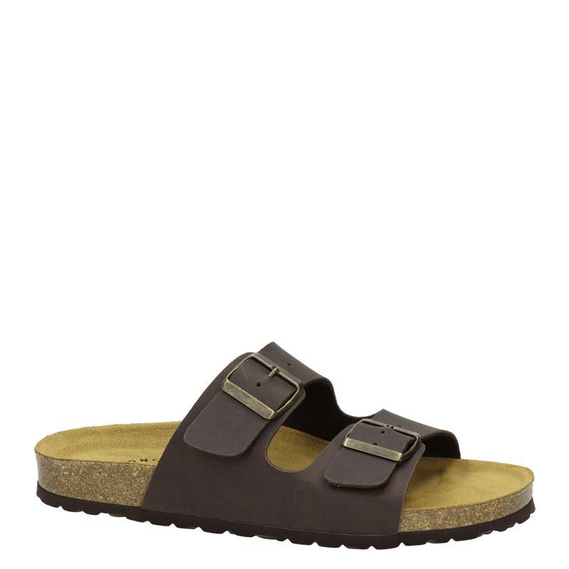 Nelson - Slippers - Bruin