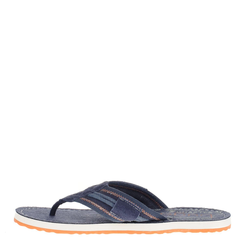 new product 12d5a 25490 Bugatti heren slippers blauw