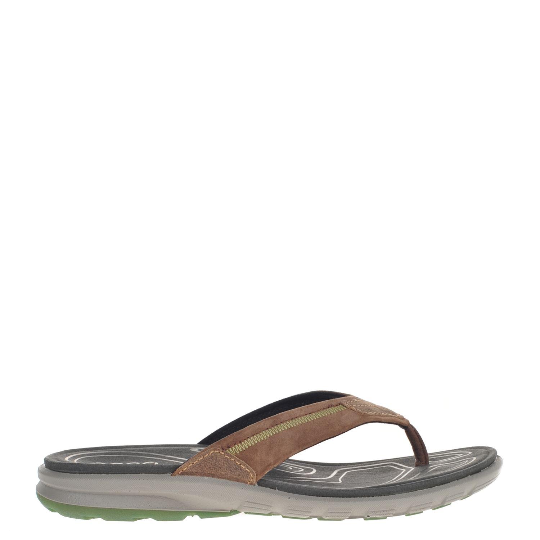 Ecco Cruise heren slippers bruin