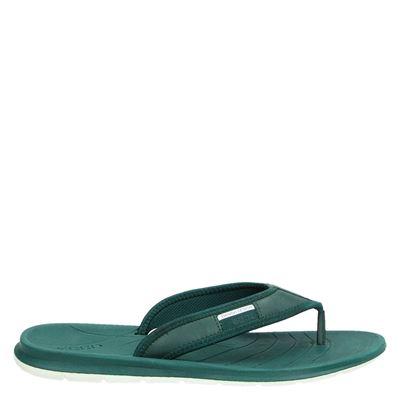 Ecco heren slippers groen