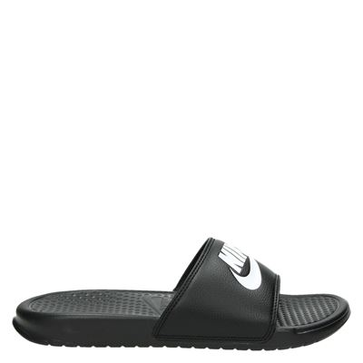 Nike heren slippers zwart