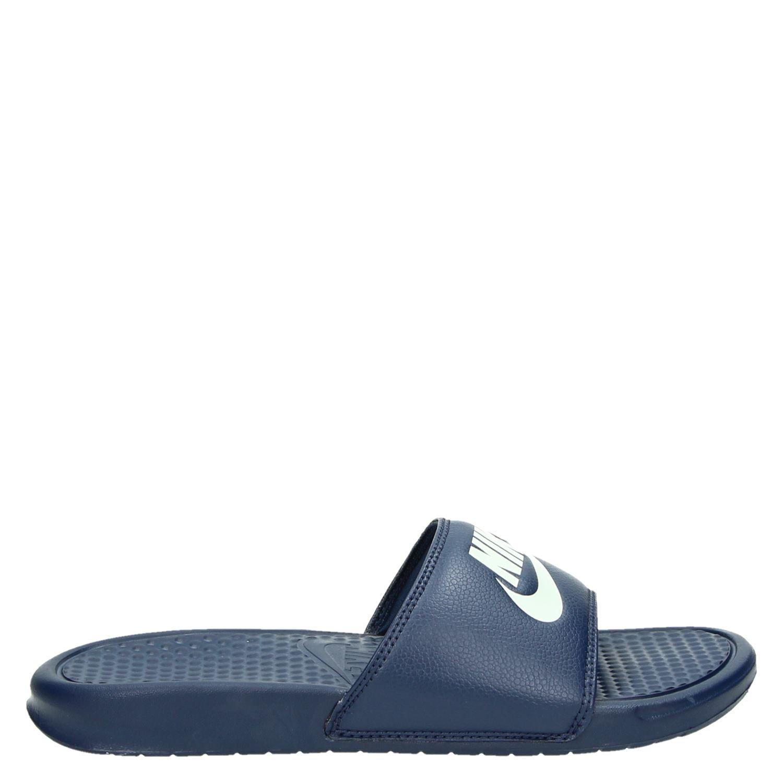 Sandales Nike Benassi - Bleu CKNqIskFw