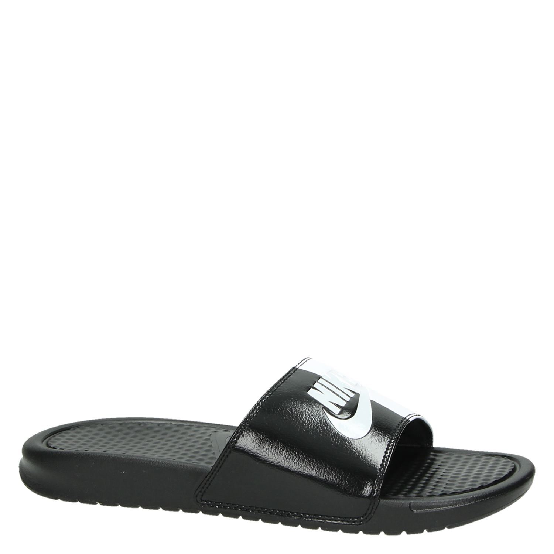 7a3b6c613af Nike Benassi JDI heren slippers blauw