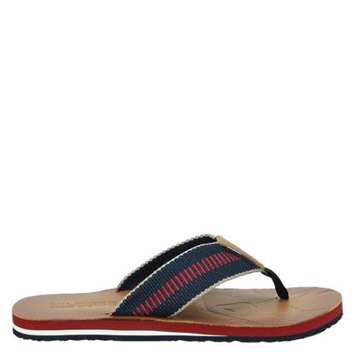 Hilfiger Denim heren slippers blauw