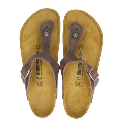 Birkenstock heren slippers bruin