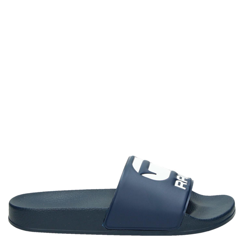 c7806ea8618 G-Star Raw Cart Slide heren slippers blauw