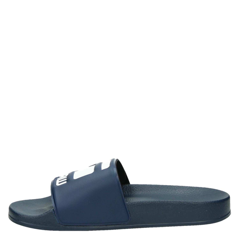 e44661ff93e G-Star Raw Cart Slide heren slippers blauw