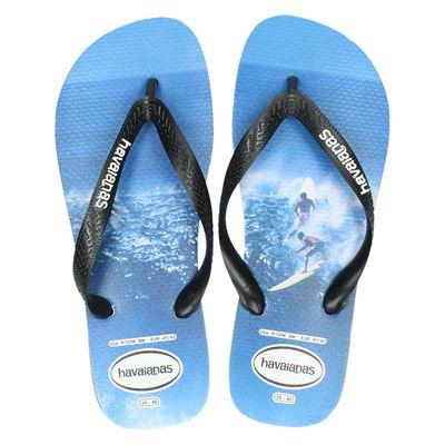 Havaianas heren slippers blauw