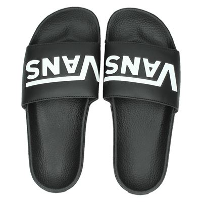 Vans heren slippers zwart