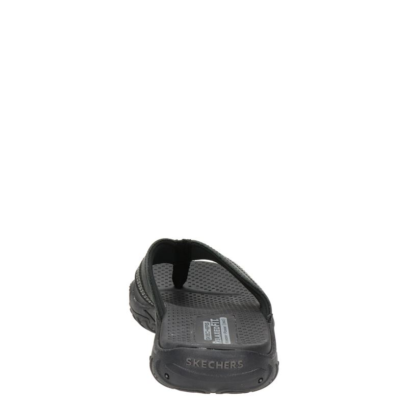 Skechers Relaxed Fit - Slippers - Zwart