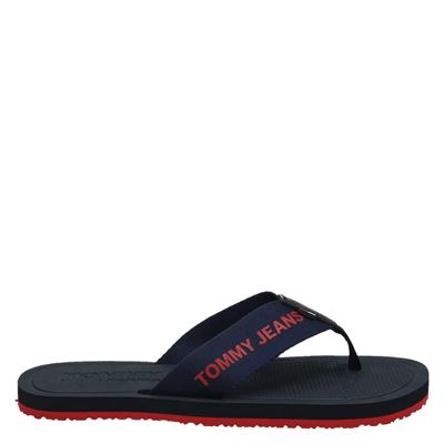 Tommy Jeans heren slippers blauw