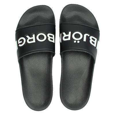 Bjorn Borg heren slippers zwart