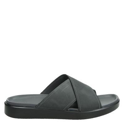 Ecco heren slippers grijs