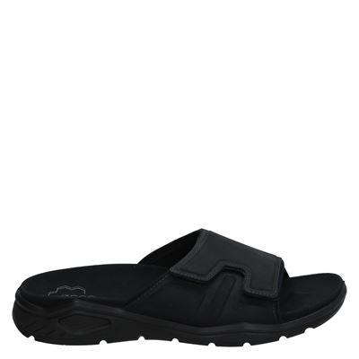 Ecco heren slippers zwart