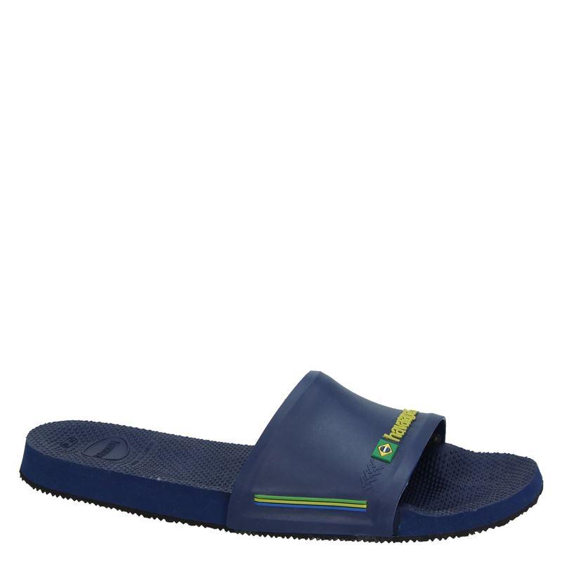 Havaianas Slide Brasil - Badslippers - Blauw