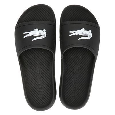 Lacoste heren slippers zwart