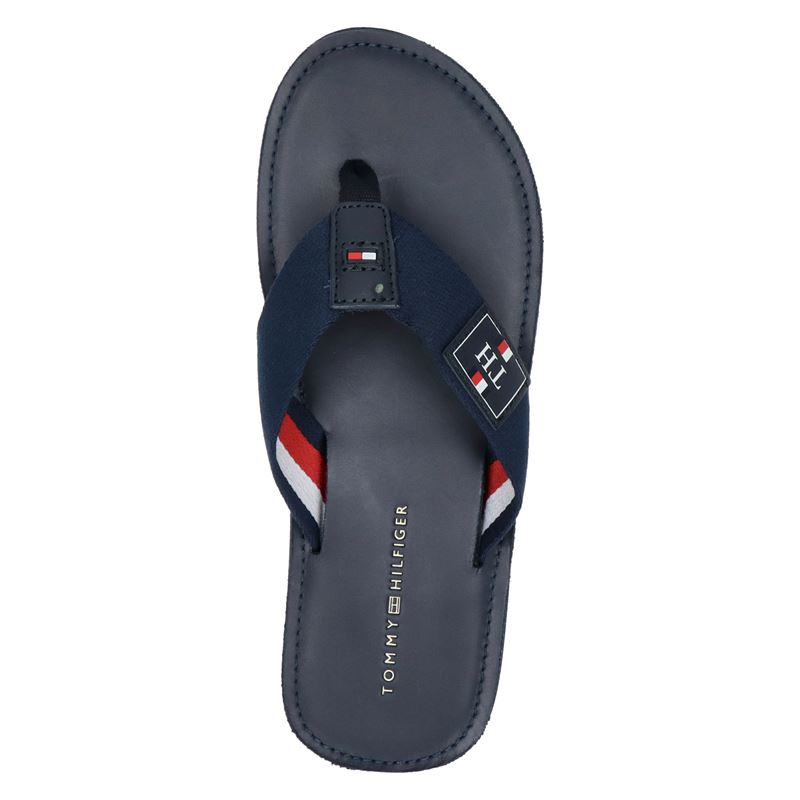 Tommy Hilfiger Sport Elevated - Slippers - Blauw
