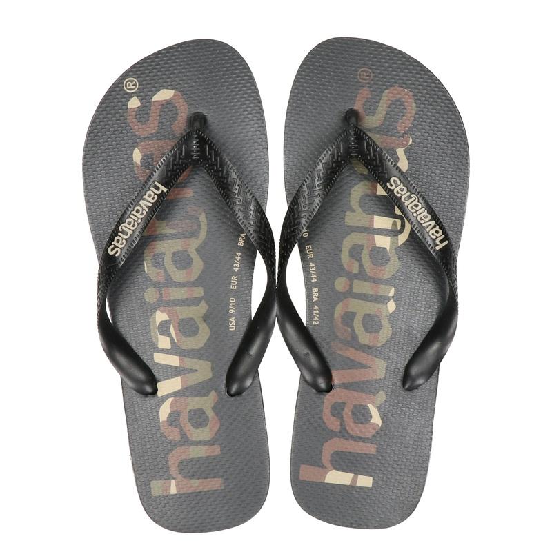 Havaianas Top Logomania - Slippers - Zwart