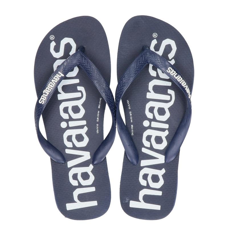 Havaianas Top Logomania - Slippers - Blauw