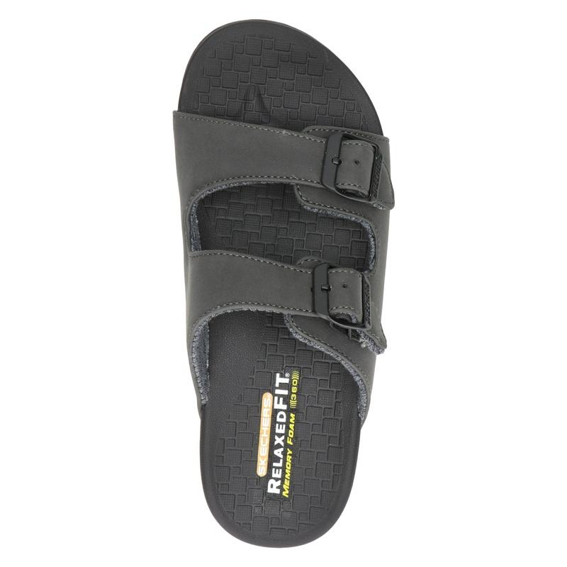 Skechers Relaxed Fit - Slippers - Zwart
