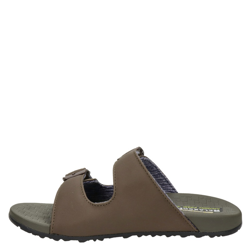 Skechers Relaxed Fit Pelem-Rolento - Slippers - Bruin