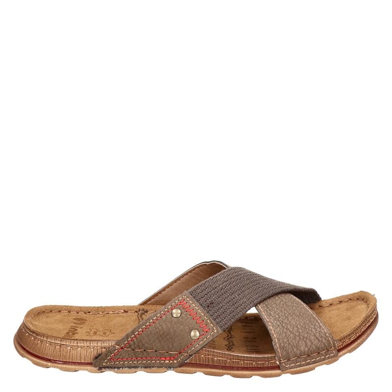 inBlu - Slippers - Bruin
