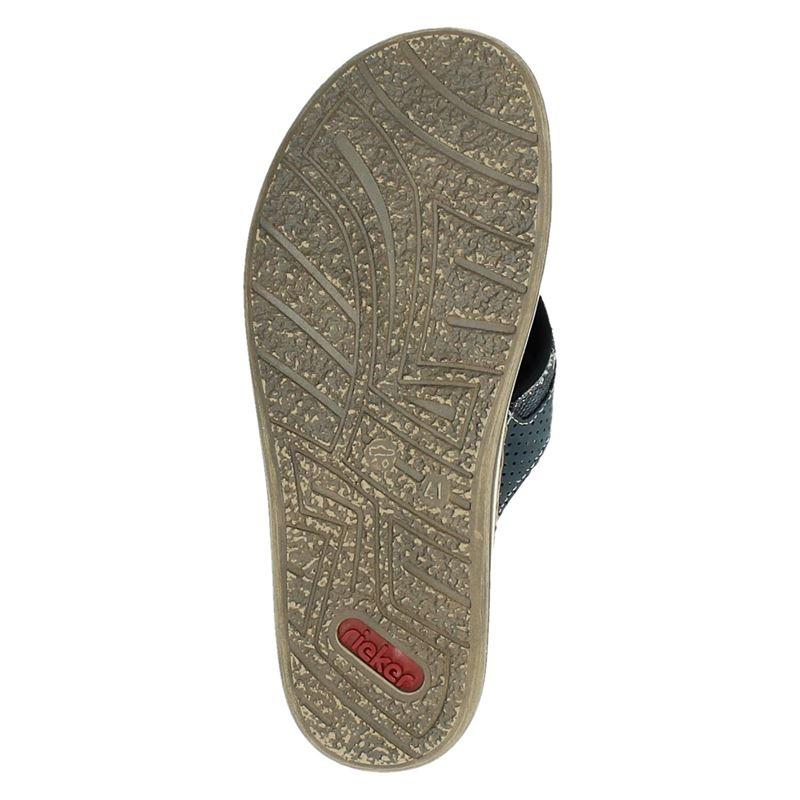 Rieker - Slippers - Blauw