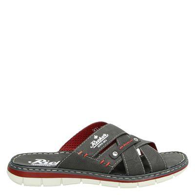 Rieker heren slippers grijs