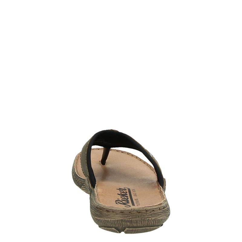 Rieker - Slippers - Bruin