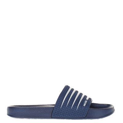 Nelson heren slippers blauw