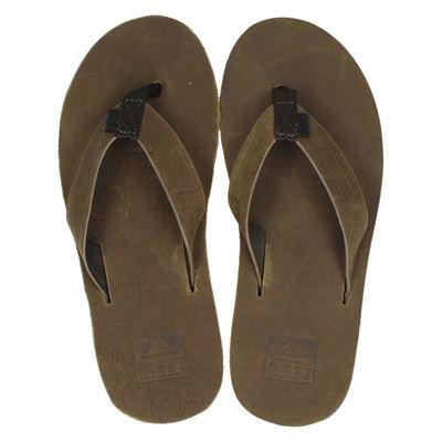 Reef heren slippers bruin