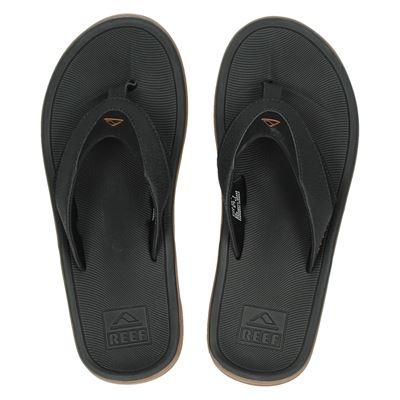 Reef heren slippers zwart
