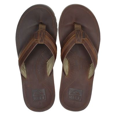 Reef heren slippers cognac