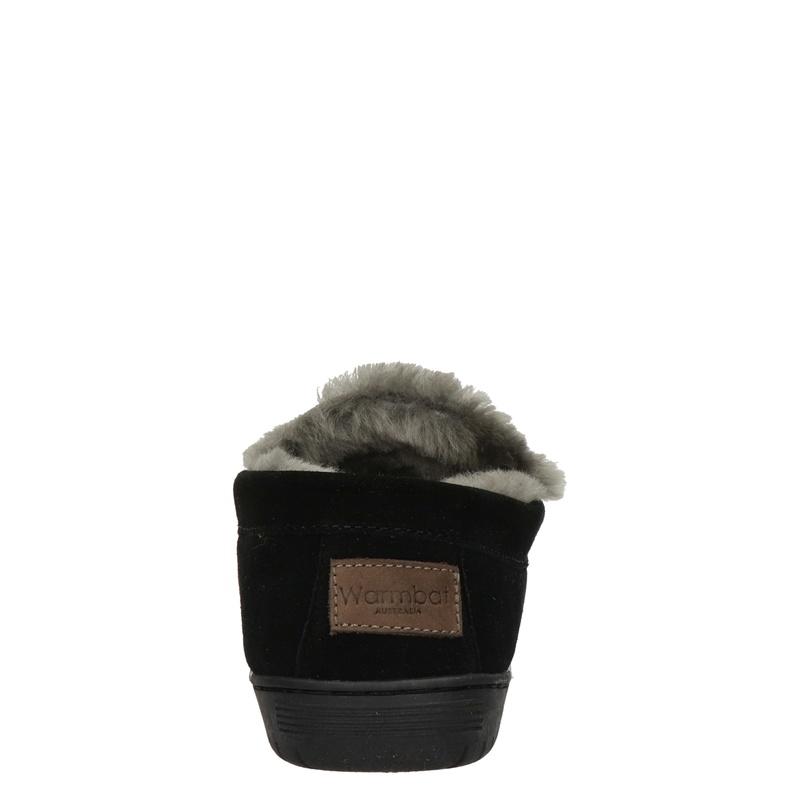 Warmbat Australia Grizzly - Pantoffels - Zwart