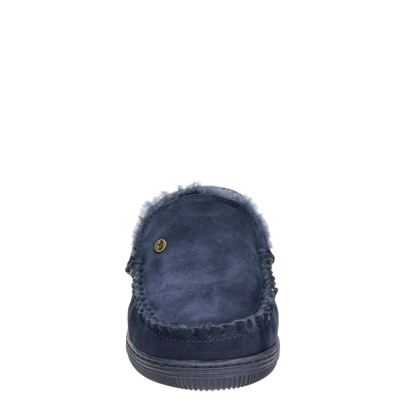 Warmbat Australia Grizzly - Pantoffels - Blauw