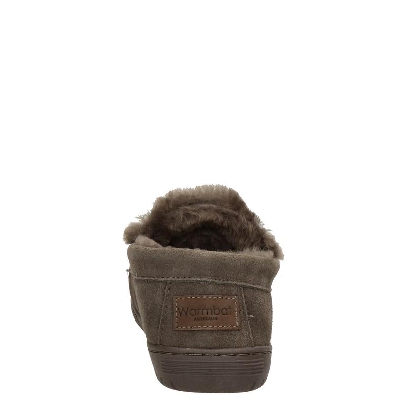 Warmbat Australia Grizzly - Pantoffels - Bruin