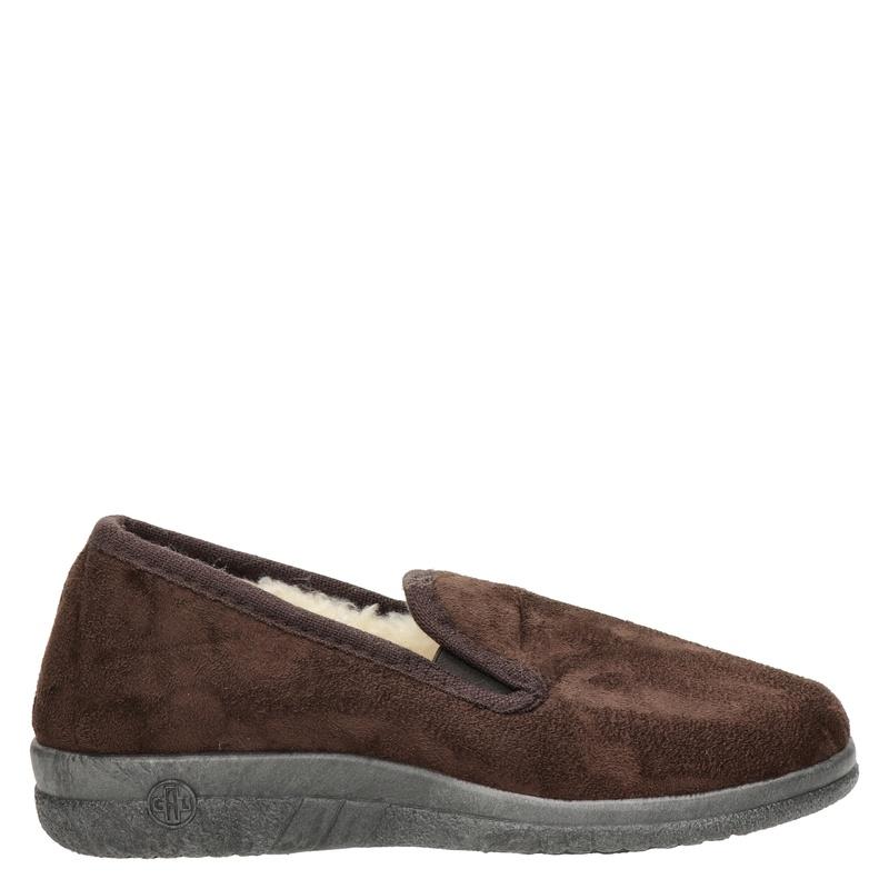 Nelson Home pantoffels bruin online kopen
